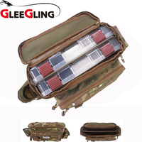 GLEEGLING Spinning Reel Cover Carp Bag Fishing Rod Case Reel Cover Hengelsport Foudraal Case Rod fishing pouches FLB02