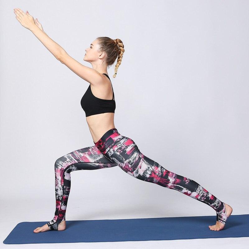 Qadın Yoga Şalvar Ayaqaltı İdman Kolları İdman Geyimi İdman - İdman geyimləri və aksesuarları - Fotoqrafiya 2