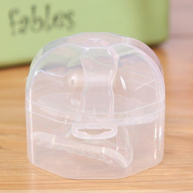 1 Pc Tragbare Transparent Neugeborenen Baby, Kleinkind Kleinkind Schnuller Nippel Cradle Fall Halter Storage Box Container Für Nippel-15 Fabriken Und Minen