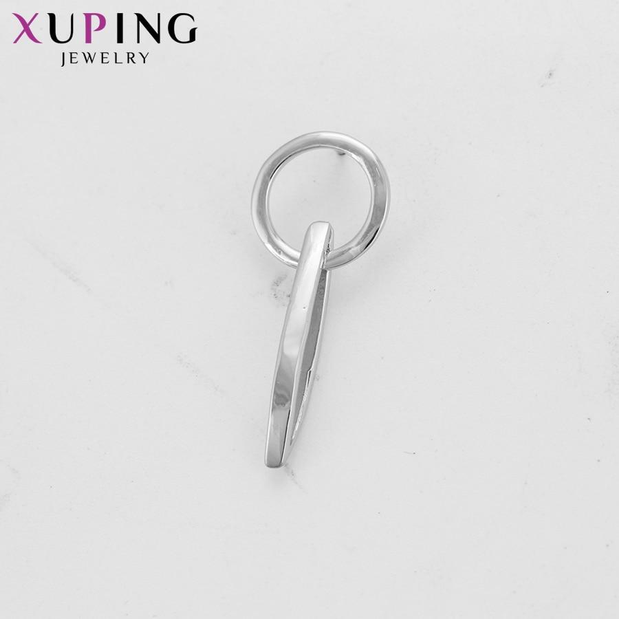 11,11 сделок Xuping темперамент простые элегантные серьги для Для женщин девушки благодарения Рождество Jewelry подарки S77, 1-94414