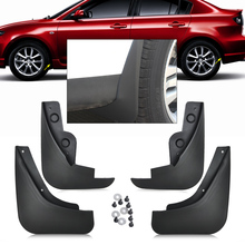 DWCX 4pcs Mud Flap Flaps Splash Guards Fender Mudguard For Mazda 3 Sedan 2006 2007 2008 2009 2010