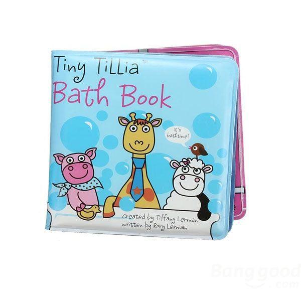 Hot Deal Baby Shower Bath Book Waterproof Story Book Educational ...