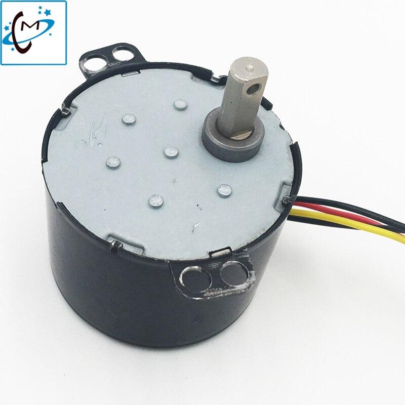 Roland printer take up reel motor rewinder servo motor for Mimaki jv33 CJV300 Wit color plotter auto reel motor 1pcs