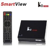 KII PRO DVB-S2 DVB-T2 S905 Android 5.1 TV Box Quad Core 2 GB 16 GB K2 pro DVB T2 S2 4 K Médias lecteur CCCAM NEWCAMD Double Wifi BT4.0
