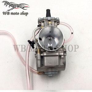 Image 4 - JINGBIN PWK28 pwk 28 30 32 34mm คาร์บูเรเตอร์รถจักรยานยนต์ ATV Quad Go Kart Dirt Bike jet boat fit 2 T 4 T JOG DIO