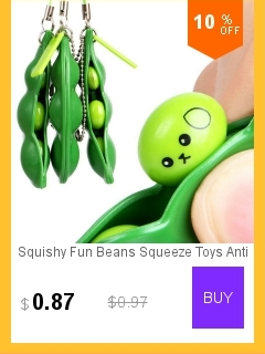Toys & Hobbies Squishy Fun Beans Squeeze Toys Anti Stressball Squeeze Funny Novelty Toy Gadgets Pendants Of Bags Juguetes #8111
