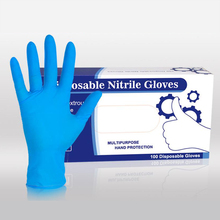 Nitrile Gloves Disposable 100Pcs Women's Work Gloves Men Protective Gloves Non-slip for laboratory medical Chemical Cleaning 100pcs 50pair disposable latex gloves medical laboratory food process clean tattoo rubber protective gloves s m l size