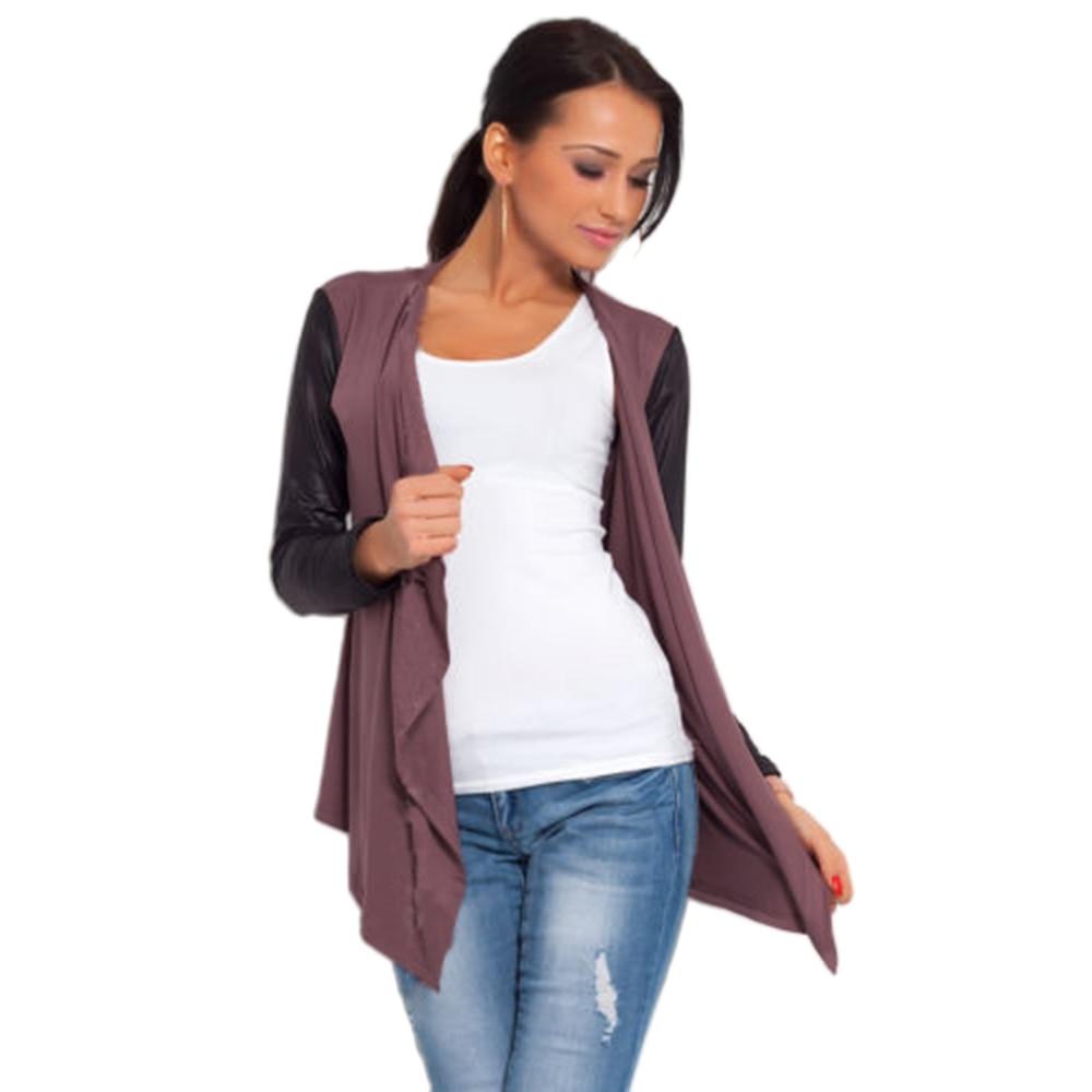 VESTLINDA Asymmetrical Cardigan Jacket Outerwear Cotton Cardigan ...