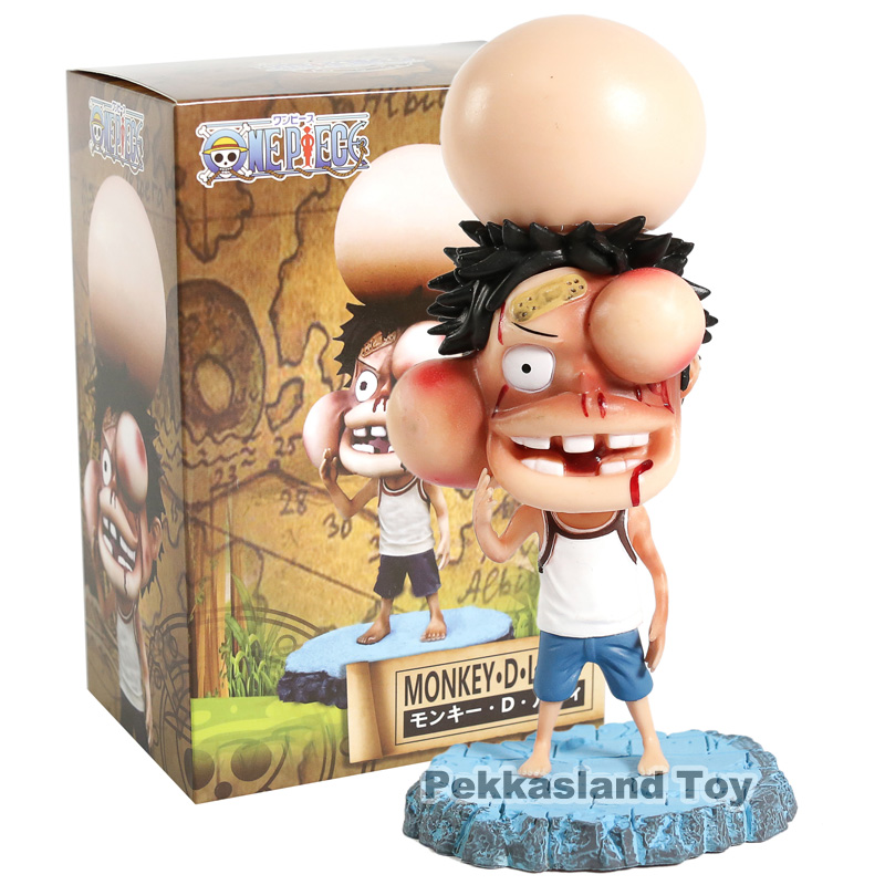 Toys & Hobbies Anime One Piece Monkey D Luffy Swollen Face Ver Pvc Figure Collectible Model Toy