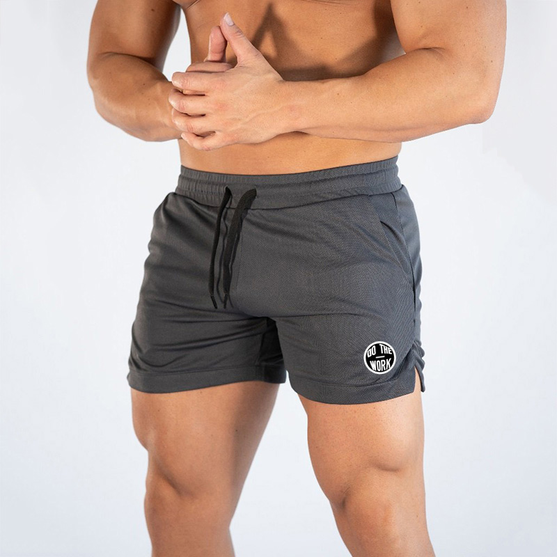 Muscleguys Brand Clothing Gyms Shorts With Pocket Mesh Quick Dry Bodybuilding Sweatpants Fitness Shorts Casual Jogger Shorts Man