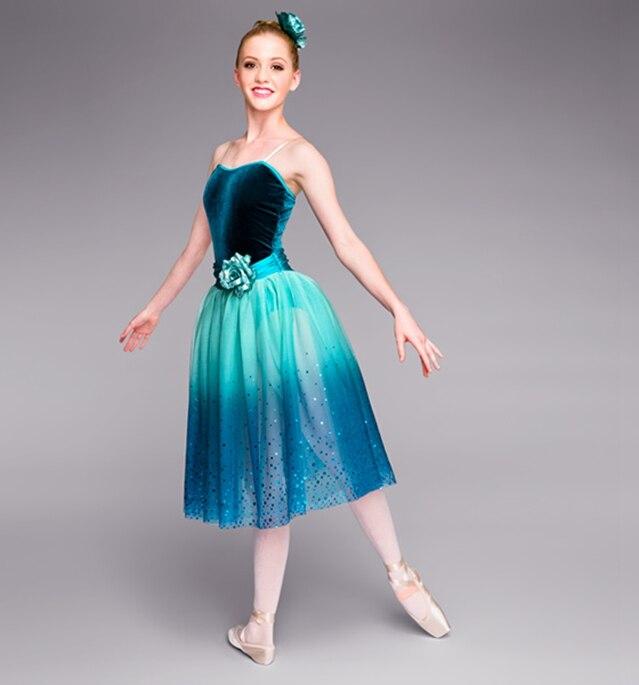 2018 nouveau Noble Tutu Ballet professionnel ballerine robe femmes classique Ballet danse Costume pour enfant Ropa De Balet B-2410
