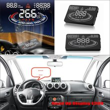 Car Information Projector Screen For Citroen C3 C5 - Saft Driving Refkecting Windshield HUD Head Up Display цена и фото