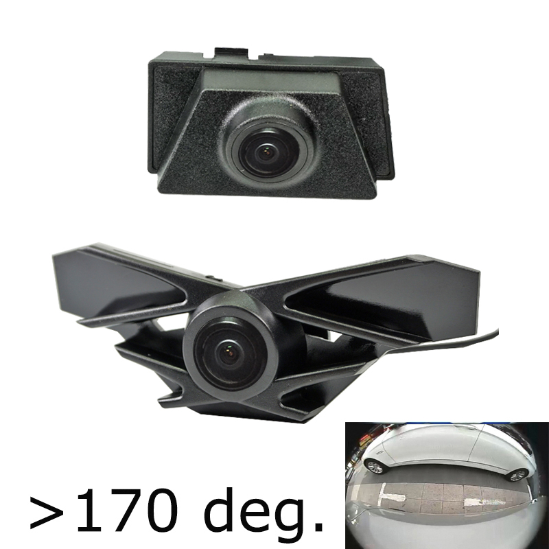 Appr 180deg CCD HD Car Front grille font b Camera b font for Lexus NX sport