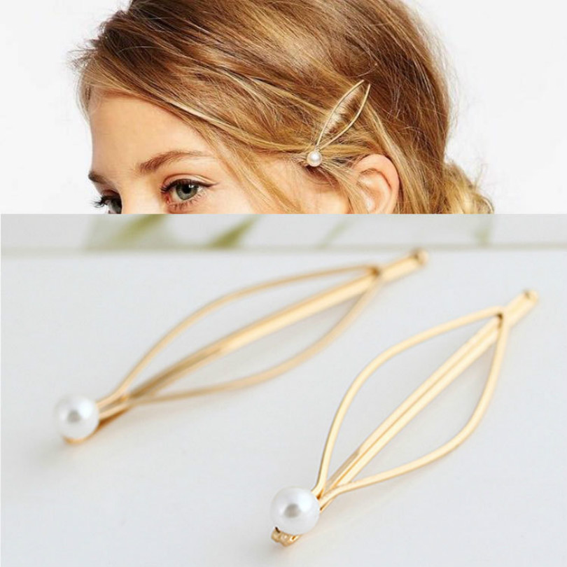 shuzhenxue Simple Jewelry Hairpins Beautiful Plated Women