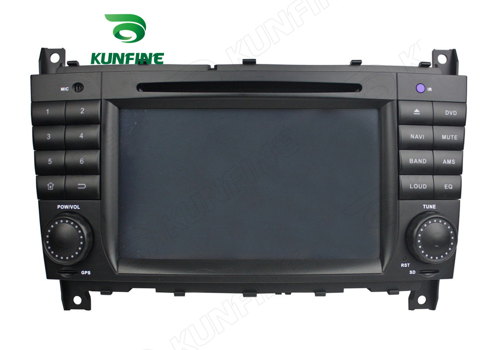 Octa Core 2GB RAM Android 6.0 Car DVD GPS Navigation Multimedia Player Car Stereo for Benz C-Class W203 2004-2007 Radio Headunit