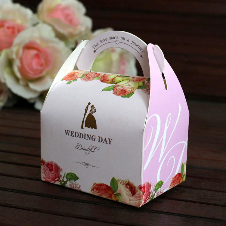 Wedding wedding candy candy boxes gift paper box box Bridal Wedding bag European candy box