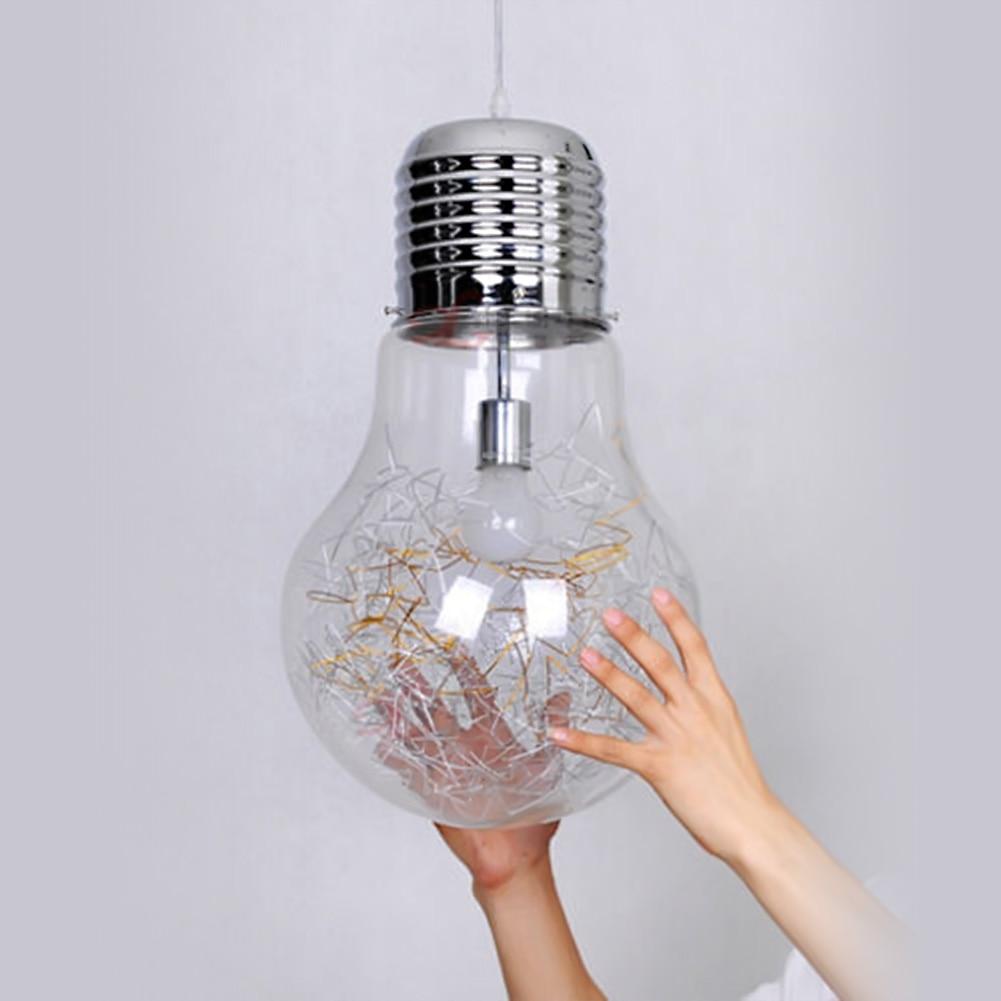 Grote lamp hanglamp moderne creatieve restaurant bar glazen hanglamp gangpad gang lamp dia 15 cm 25 cm 30 cm hanger