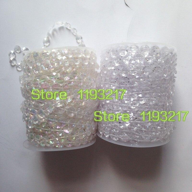 1 /'/' Breite Bling Diamant Mesh  Band Silber Strass Mesh 5 Yards 27mm