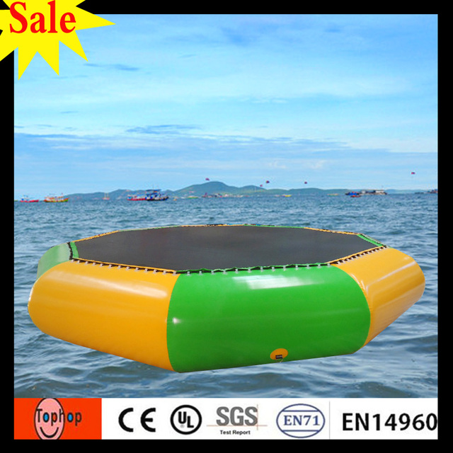 Wholesale Rent A Mini Inflatable Trampoline Used Swimming Pool For Kids Adults Water Games 09mm