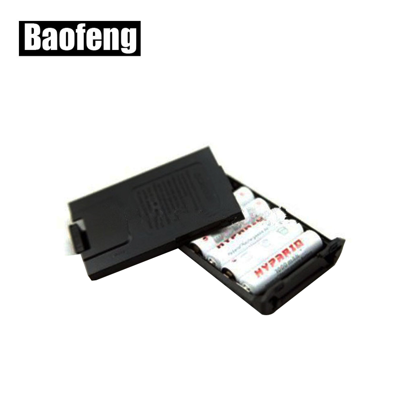 6xAAA Batterijhoesje voor Walkie Talkie Baofeng UV-5R UV-5RE Plus-radio