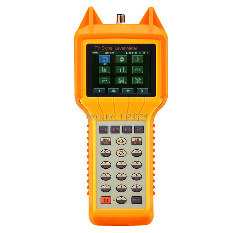 RY-S1130 TV Digital CATV Signal Level Meter Cable Testing 46-870MHz MER BER