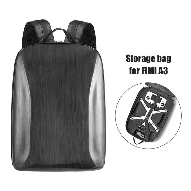 Portable Hard Shell PC Backpack Waterproof Storage Bag Carrying Case  For Xiaomi FIMI A3 RC Quadcopter Camera Drone