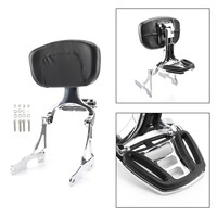 Areyourshop Motorcycle Sissy Bar Backrest w/ Luggage Rack For Sportster 883 1200 48 2006 2018 2007 2008 2009 Motor Accessories