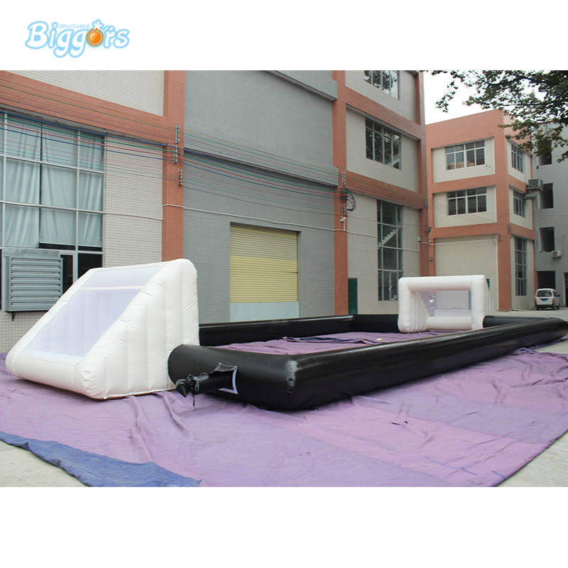 Popular Commercial Material Sport Field Inflatable Interactive Sport Field For Outdoor Activity