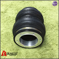 Aluminum/SN142187BL2-H /Airlift 5813 hollow Double convolut rubber airspring/airbag shock absorber/pneumatic part/air suspension