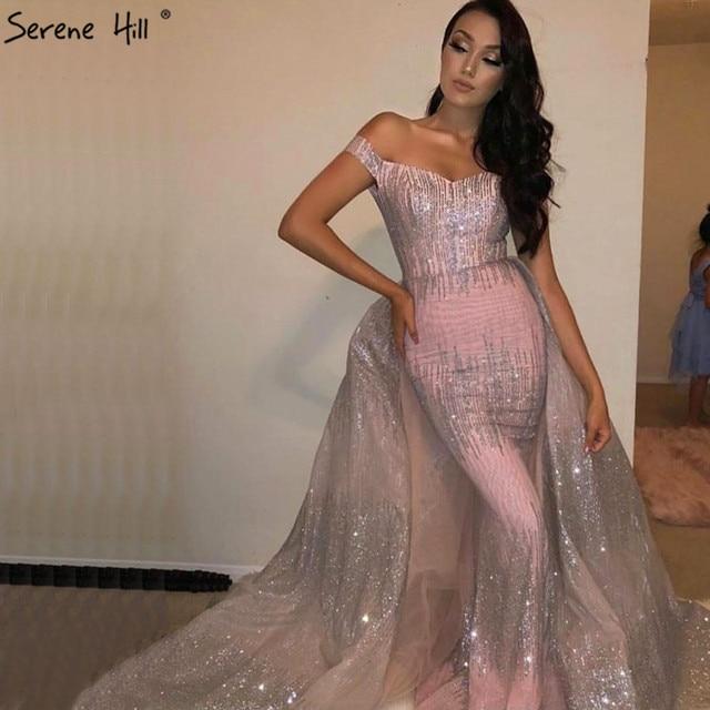 SERENE HILL Sliver Pink Luxury Evening ... 91026d182cc7