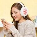 Plush Female Winter Earmuff Warm Ear Muffs Headphones Girls Earmuffs Music Earphones Ear Warmers Ear Protector Fur Headphones