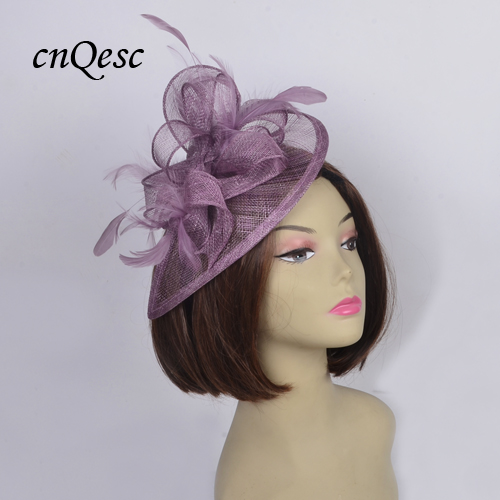 6dc958ae Detail Feedback Questions about NEW Burgundy wine HOT Sinamay Fascinator  Hat bridal accessories for Wedding,Kentucky Derby,Ascot Races,church.
