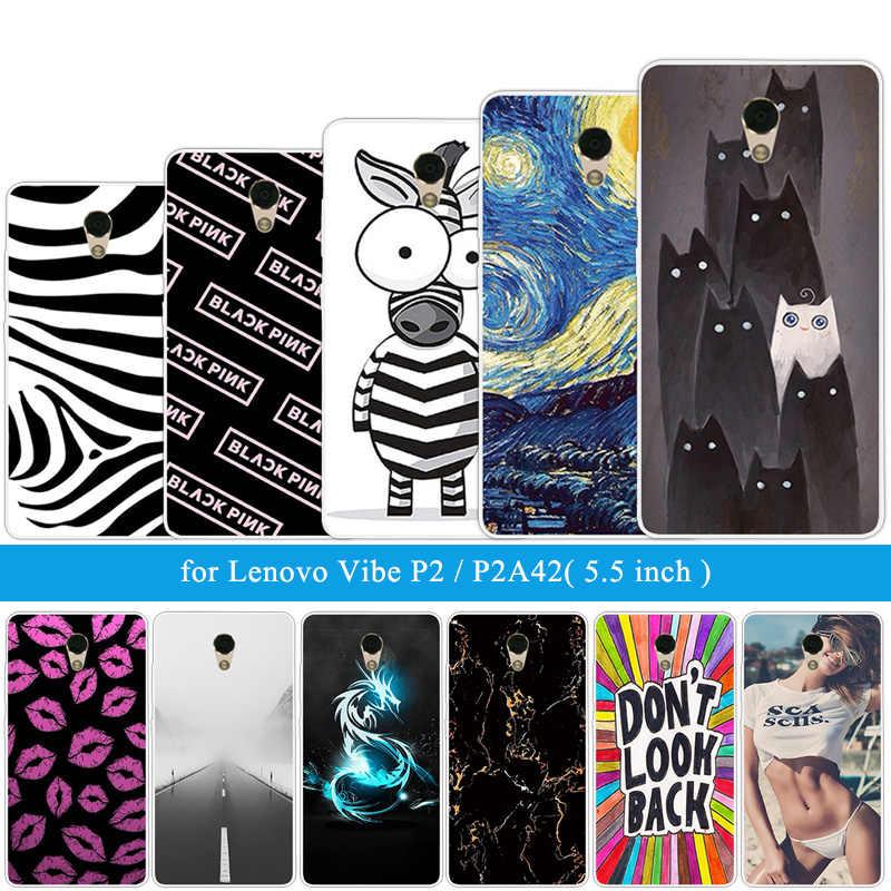 Для Lenovo p2 P2c72 P2a42 роскошный защитный для мобильного Fundas чехол высокого качества Zebra задний Чехол-сумка для телефона Capas для Lenovo Vibe p2