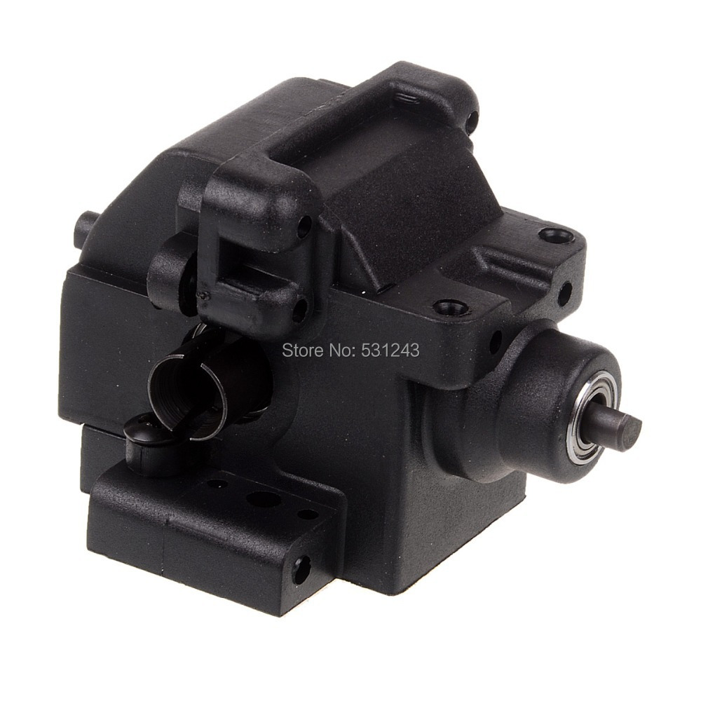 Front Gear Box Complete 06063 HSP Himoto REDCAT Racing Spare Parts For 1/10 RC Model Car free shipping hsp 1 10 speed reduction gear set differential gear box 02126 spare parts fit for 94101 1 10 rc car