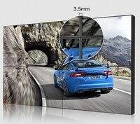 2x2 sztuk 3.5mm wyświetlacz panel lcd Bezel CCTV BNC suport sygnału VGA DVI HDMI lcd video wall