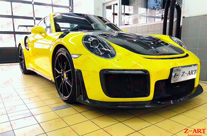 2012 2018 Z Art 911 Gt2 Rs Body Kit For Porsche 911 Tuning Body Kit For 991 911 Retrofit Aerodynamic Body Kit For Porsche 991 Bumpers Aliexpress