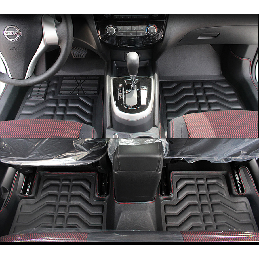 Floor mats qashqai - Free Shipping Leather Car Floor Mat Carpet Rug For New Nissan Qashqai 2016 2017 J11