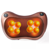 Relaxation Massage Pillow neck back electric foot massager Infrared Heating Kneading Shiatsu Home Car Massage tools Healthy care