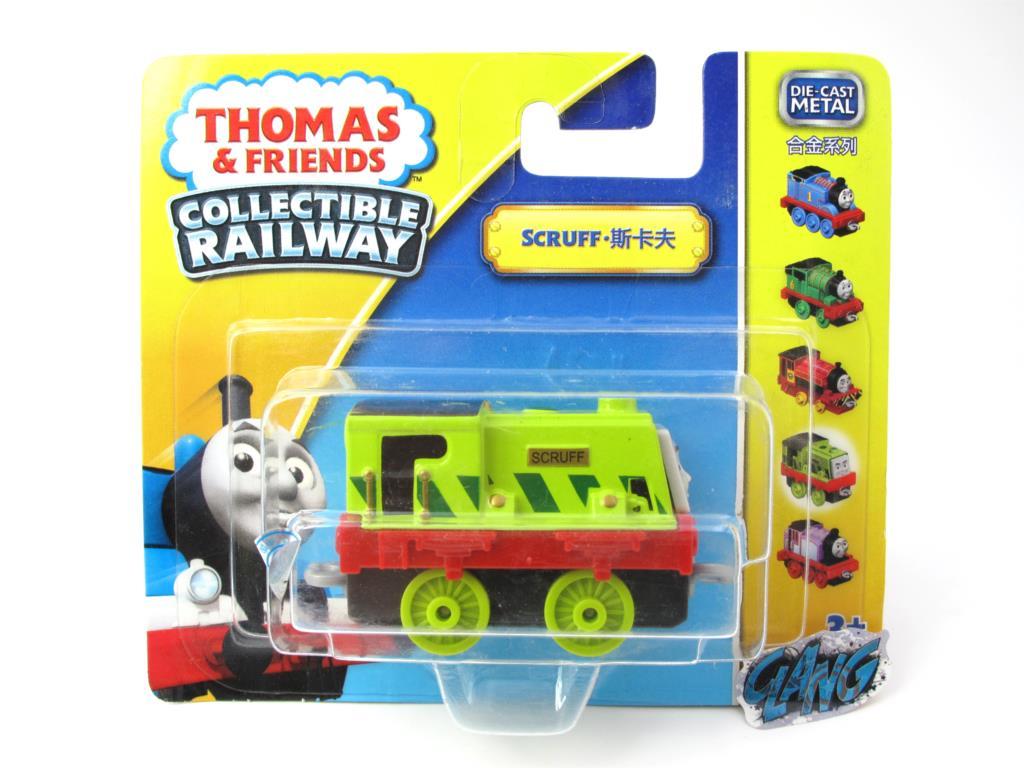 1:64 Diecasts Vehicles Thomas T119N SCRUFF Thomas And Friends Magnetic Tomas Truck Engine Railway Train Toys for Boys NIB