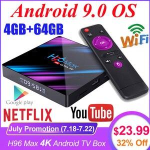 H96 MAX RK3318 4K Smart TV Box