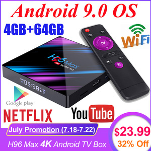 H96 MAX RK3318 4K Smart TV Box Android 9