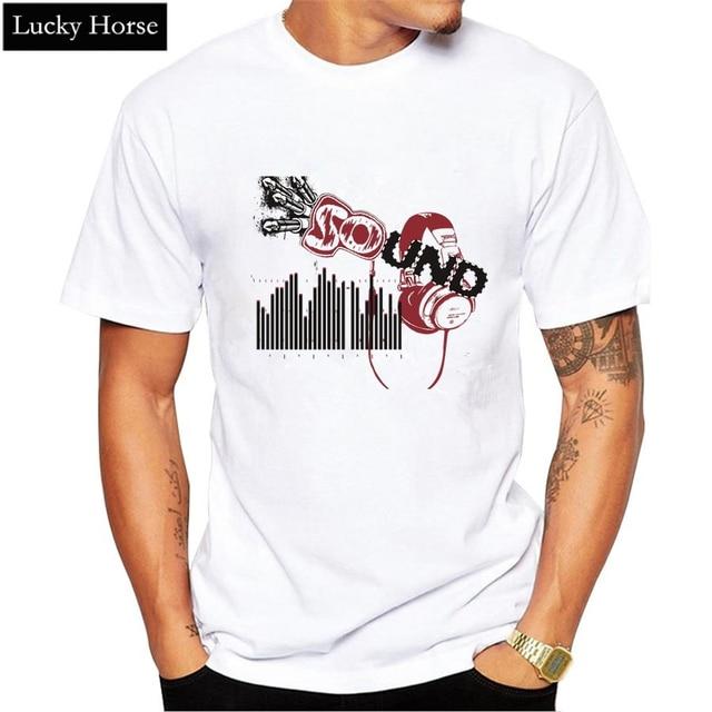 a414d4c031 2017 New Fashion Music Rhythm Design 3d Printed T Shirt Men Rock ...