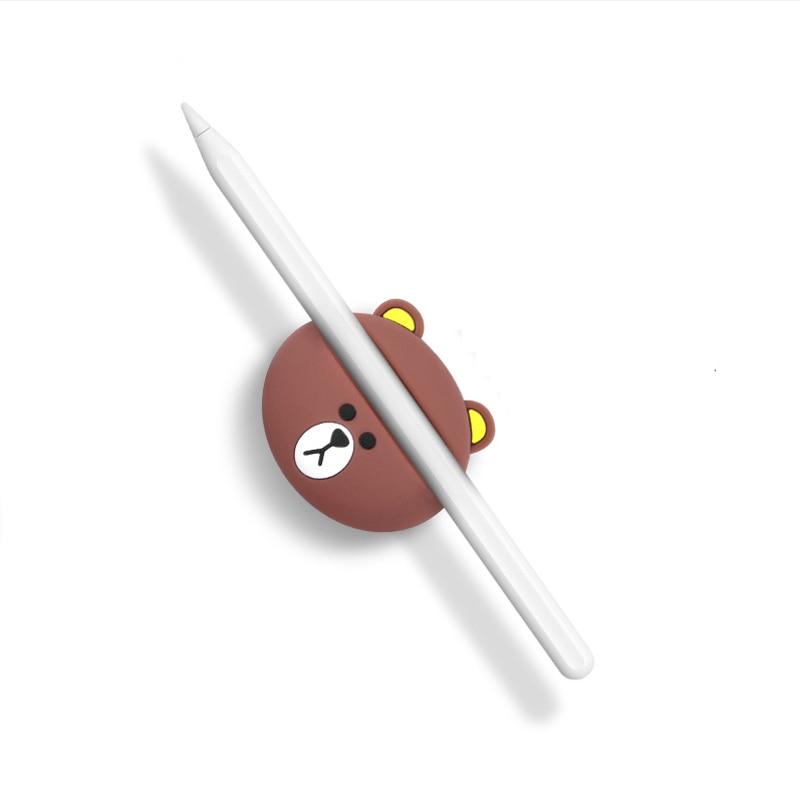Silicone Pencil Base For Apple Pencil Base Storage Cover Ipad Pro Capacitive Pen Accessories Apple Pen Set Stylus Pen Base