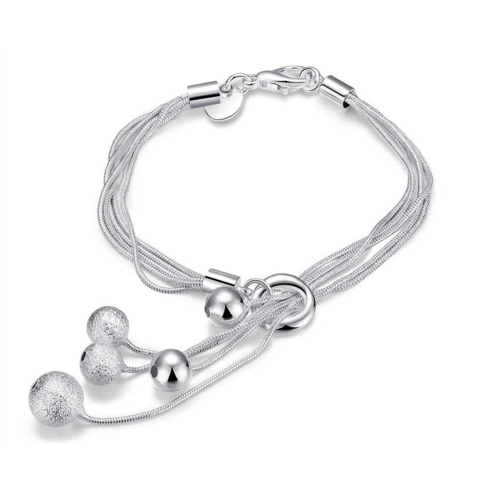 925 серебряные браслеты для женщин