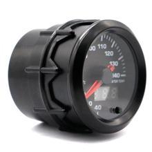 52MM 2Inch Dual Display 12V 20~140 Degree Celsius Universal Car Motor Gauge Water Temperature Meter 7 Color Backlight