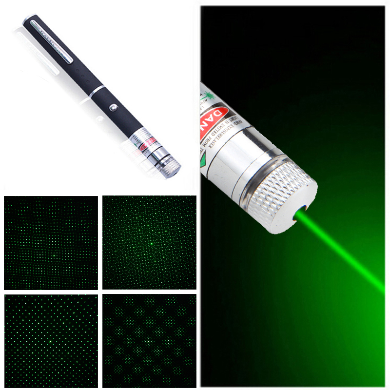 without Battery Lasers Laser Pointer 100mw Red Green Laser Sight Adjustable Lazer Sky Star Hunting Flashlight
