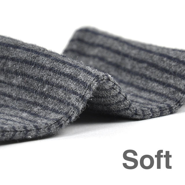 Brand New Stripe Style Men Cotton Socks Business Causal Thermal Autumn Winter Man Long Socks (5pairs / lot)