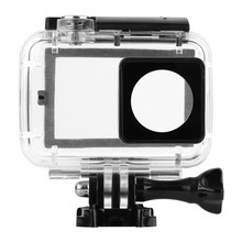 New 40M Diving Touchable Waterproof Case For Xiaomi Yi 4K 2 II Motion Digital camera with Contact Backdoor Xiaomi Yi Equipment