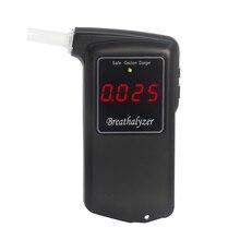 Sensor de celda de combustible, alcoholímetro, alcoholímetro Digital de policía de alta precisión, alcoholímetro AT 858F