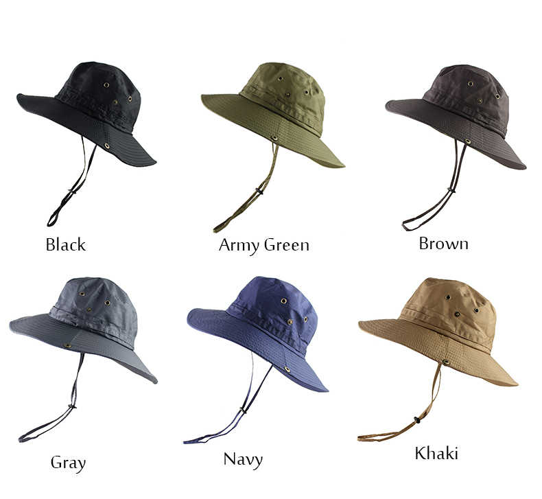 e5079791 ... UPF50+ Lightweight Sun Hat Women Men Mesh Bucket Hat Summer Fishing  Hiking Cap UV Protection Flap ...